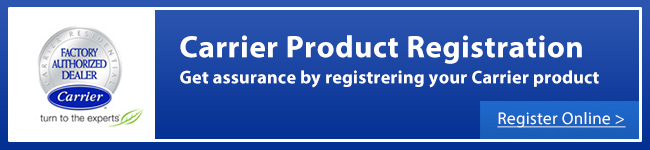 Carrier Product Registration
