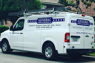 General Heating and Air Conditioning at Your Service